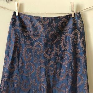 J. Jill Skirts - J. Jill Stunning Silk and Linen Maxi Skirt (6)